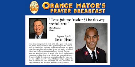 48th Annual Orange Mayor's Prayer Breakfast