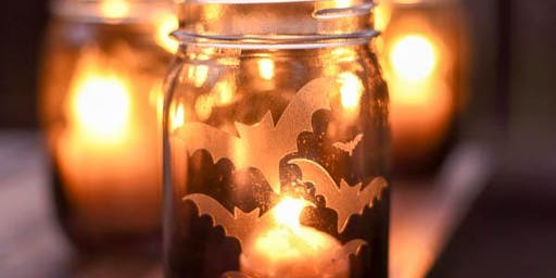 Craft Class: Halloween Etched Glass
