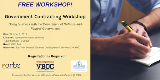 Government Contracting - Doing Business w/ Dept. of Defense and Federal Gov
