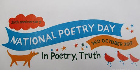 National Poetry Day - Exhibition (Parbold) tickets