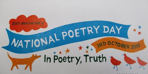 National Poetry Day - Exhibition (Parbold)