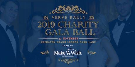 Verve Rally 2019 Charity Gala Ball tickets