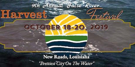 9th Annual False River Harvest Festival  tickets
