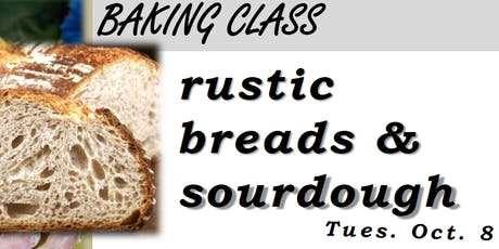 Rustic Breads tickets