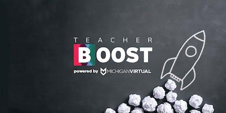 Monroe Teacher Boost — Get Help Personalizing Your Classroom! tickets