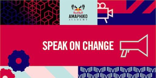 Speak on Change hosted by Jamz Supernova