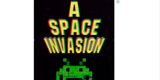 Light Up Lancaster - Space Invaders! (Lancaster)
