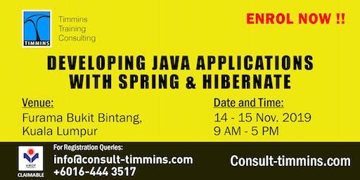 Developing Java Applications with Spring & Hibernate in Kuala Lumpur