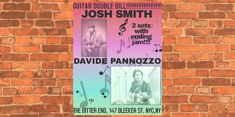 Josh Smith & Davide Pannozzo tickets