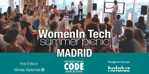 WomenInTech Summer Picnic Madrid (I edition)