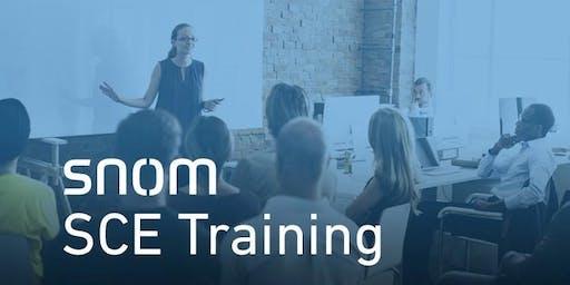 Snom SCE Training, Wien, AT