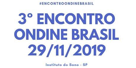 3º Encontro Ondine Brasil ingressos