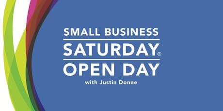 Small Business Saturday - Open Day, Speaker and Networking tickets