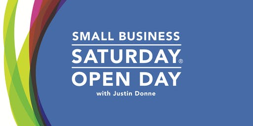 Small Business Saturday - Open Day, Speaker and Networking