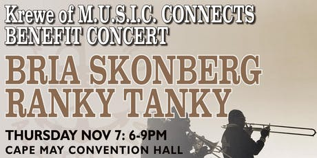M.U.S.I.C.CONNECTS BENEFIT CONCERT: BRIA SKONBERG QUARTET + RANKY TANKY tickets