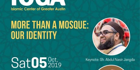 More Than A Mosque: Our Identity - Community Dinner tickets