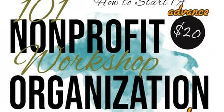 Nonprofit Organization 101 Workshop tickets