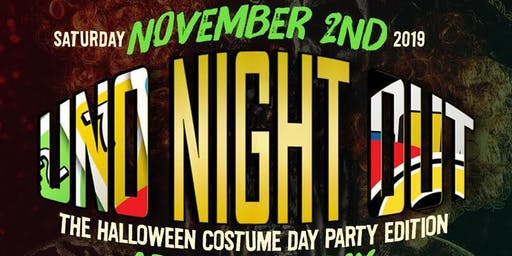 Uno Night Out: the Halloween Costume Day Party Edition