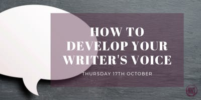 How to Develop Your Writer's Voice