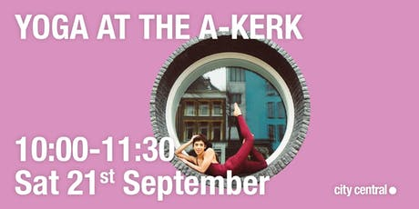 Yoga at the A-kerk tickets