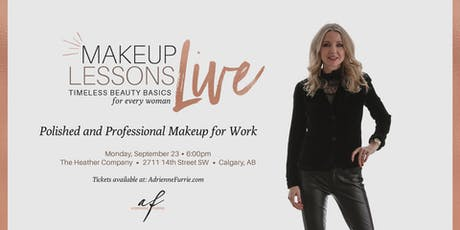 POLISHED AND PROFESSIONAL MAKEUP FOR WORK - Live group makeup lesson tickets