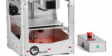3D Printing and Laser Engraving with BoXZY tickets
