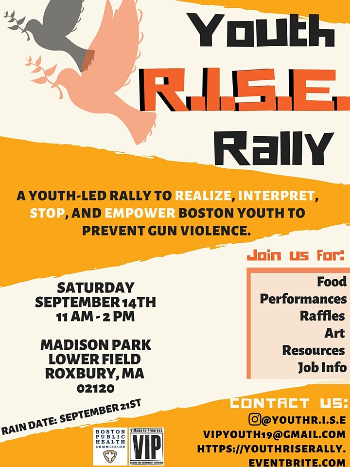 Youth R.I.S.E. Rally for Gun Violence Prevention image
