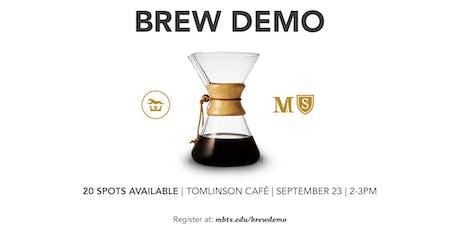 Tomlinson Cafe Brew Demo tickets