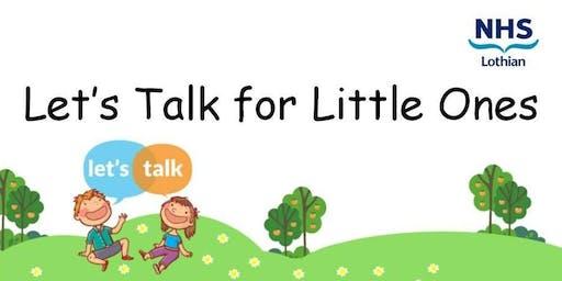 Let's Talk for Little Ones in West Lothian
