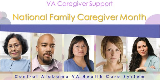 Central Alabama VA Caregiver Support Month
