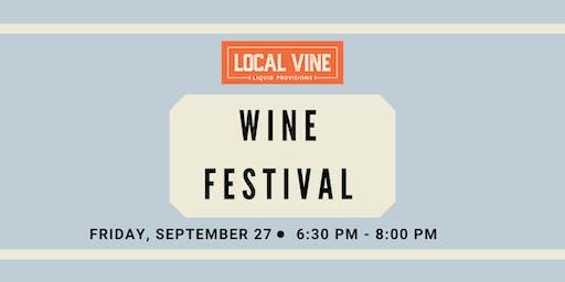 Local Vine Wine Festival