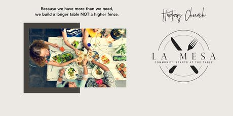 La Mesa - Community Starts at the Table tickets