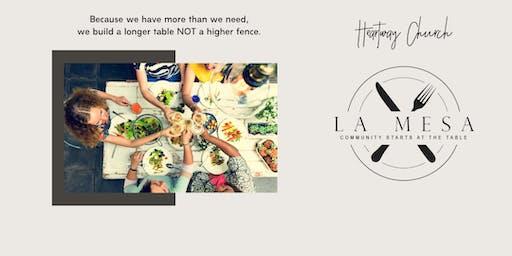 La Mesa - Community Starts at the Table