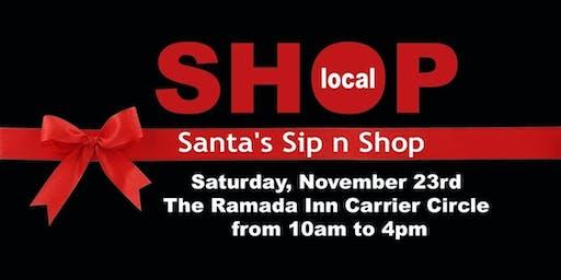 Santa's Sip & Shop