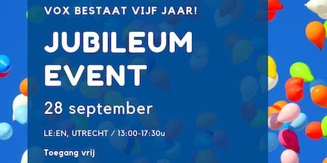 Jubileum Event tickets