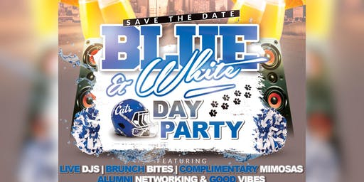Blue & White Day Party
