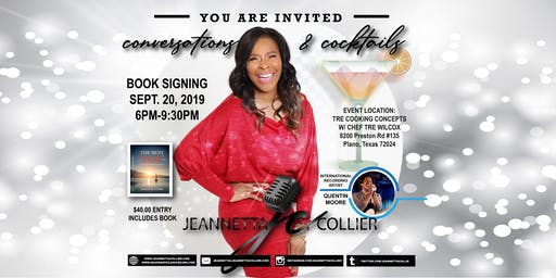 Conversations & Cocktails Book Signing w/ Jeannetta Collier