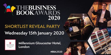 Business Book Awards 2020 Shortlist Reveal Party tickets