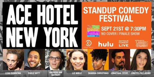 Ace Hotel Comedy Festival!