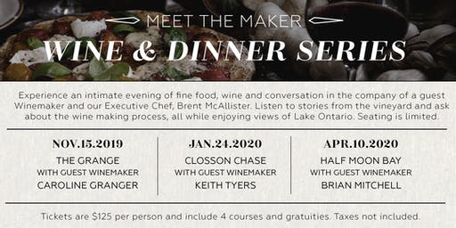 Meet the Maker Wine & Dinner Series