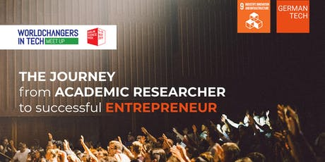 The journey from an academic researcher to a successful entrepreneur. tickets