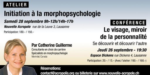 ATELIER:  INITIATION à la MORPHOPSYCHOLOGIE