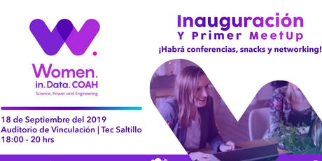 Primer Meetup  Women in Data Science, Power and Engineering Coahuila tickets