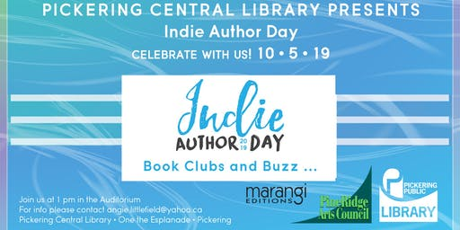 Indie Author Day Pickering