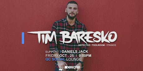 SESSION Charlotte - TIM BARESKO at QC Social Lounge tickets