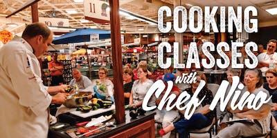 Chef Nino Cooking Demo w/ Fox10 1pm