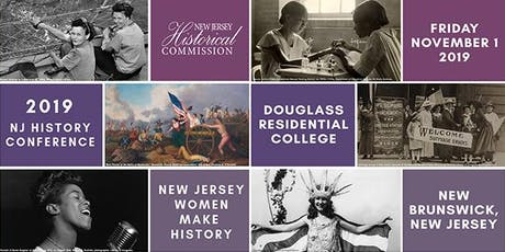 2019 New Jersey History Conference, NJ Women Make History tickets