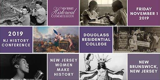 2019 New Jersey History Conference, NJ Women Make History