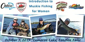 Introduction to Muskie Fishing for Women 2019