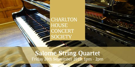 Salome String Quartet - Charlton House Concert Society tickets